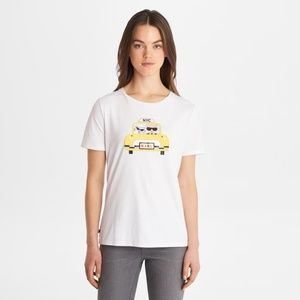 Karl Lagerfeld limited edition collection taxi top